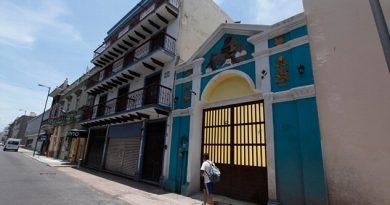 Vandalizan Edificio Histórico