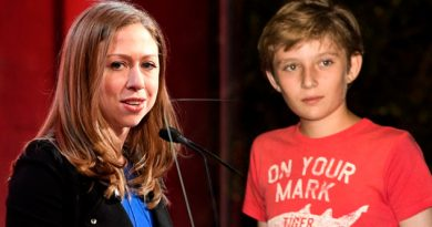 Chelsea Clinton Barron Trump