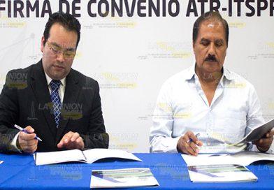 Firma convenio ITSPR  con la empresa ATR