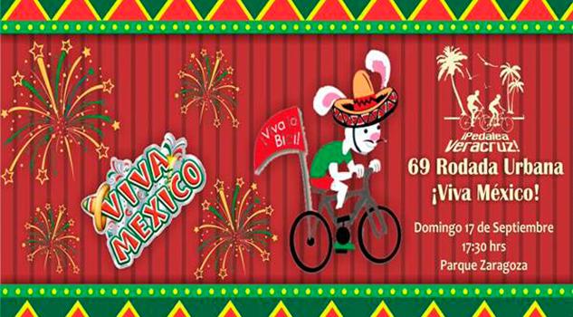 ¡Viva México! Rodada para celebrar fiestas patrias