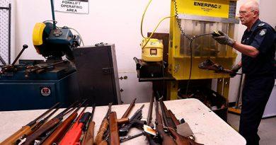 Éxito Amnistía Australia Armas Ilegales