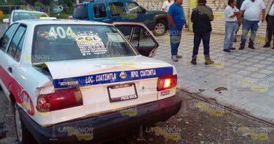 Accidente Torton Taxi