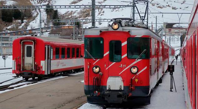 Accidente Tren Andermatt Suiza