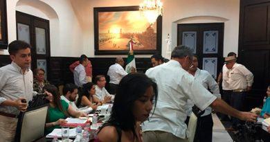 Agarrón Regidores Sesión Cabildo Veracruz