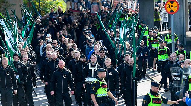 Arrestan en Suecia
