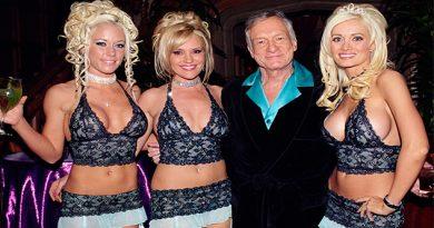 Así reaccionaron las conejitas de The Girls Next Door ante la muerte de Hugh Hefner