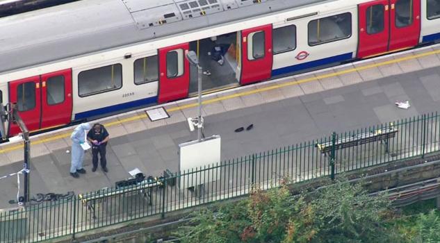 Ataque Terrorista Tren Londres