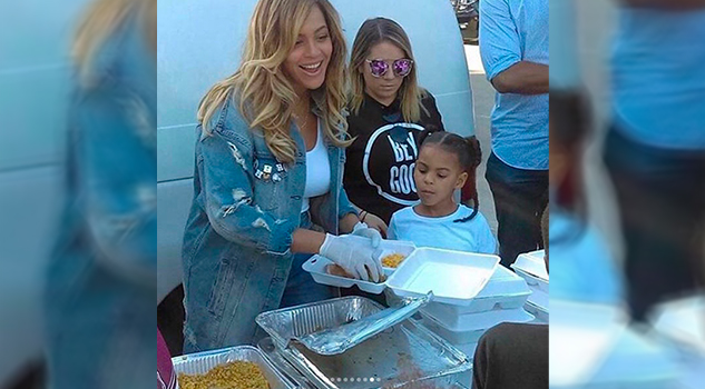 Beyoncé Blue Ivy Ayuda Víctimas Harvey