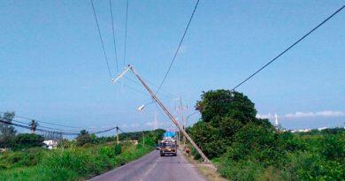 CFE Trabaja Restablecer Energía colonia Veracruz