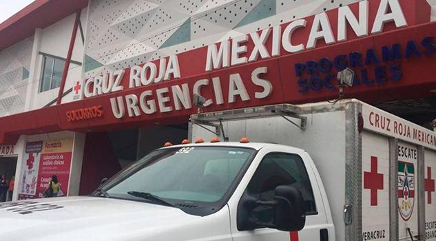 Cruz roja Delegación Veracruz Boca del Río Centro Acopio