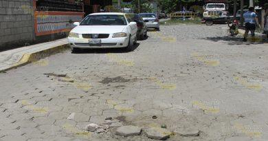 Deshecho el adoquín de la Colima1