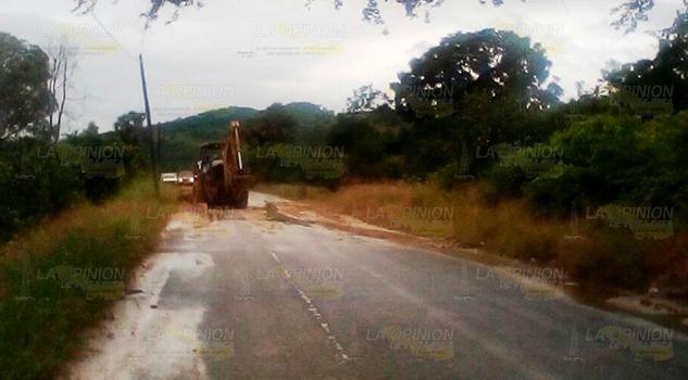 Deslaves en carretera 2