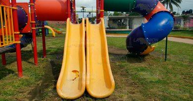 Deterioran Juegos Infantiles Urge Rehabilitación