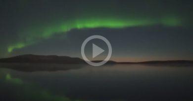 Espectacular Cielo Finlandia Aurora Boreal