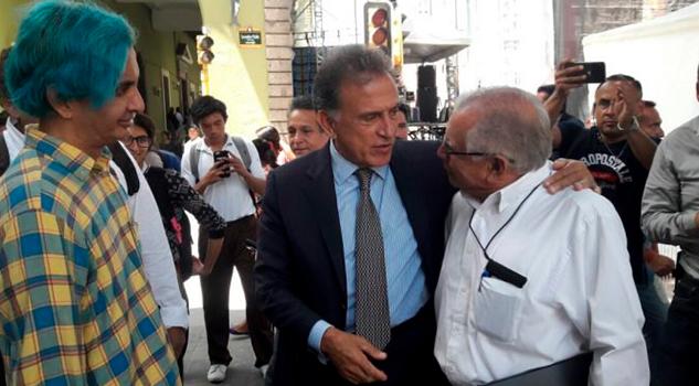 Evita Gobernador hablar de delincuencia en Xalapa 'salí a disfrutar
