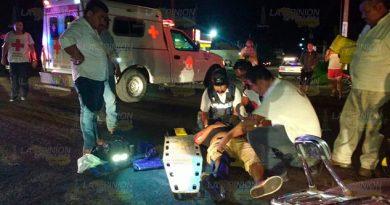 Fuerte accidente en el crucero a Tamiahua1