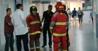 Fuga Gas Hospital Veracruz Alerta Bomberos
