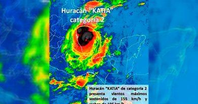 Huracán Katia Categoría 2
