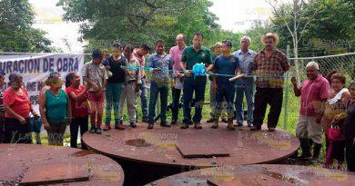 Inauguran proyecto de agua