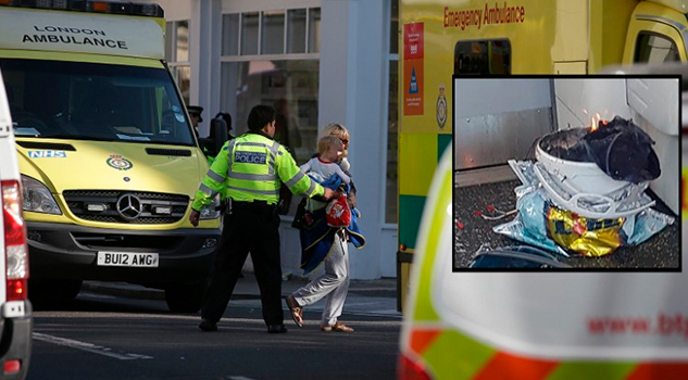 Incidente terrorista en el metro de Londres deja al menos 29 heridos