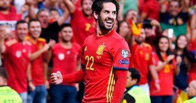 Isco fue 'genio' y España le dio paseo a Italia rumbo a Rusia