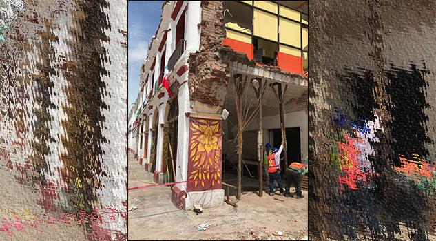 La Secretaría de Cultura y el INAH emprenden acciones para recuperar inmuebles históricos afectados por los sismos