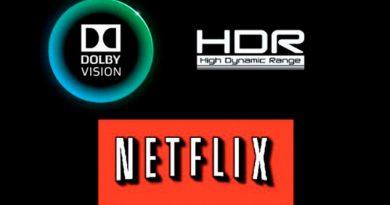 Listado de terminales compatibles con los vídeos HDR de Netflix