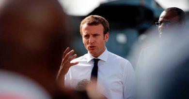 Macron Visita Islas Caribe Devastadas Irma