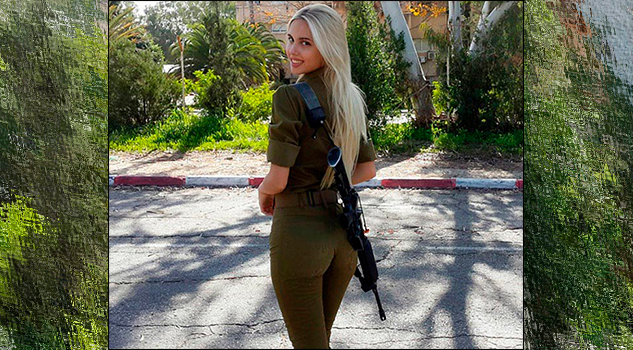 María Miri Domark: Esta bella soldado israelí es nuestra chica del día