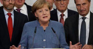 Merkel Admite Esperaba Mejor Resultado