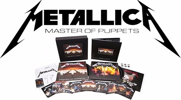 Metallica Master of Puppets Remastered