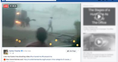 No te dejes engañar videos falsos del huracán Irma se han vuelto virales en Facebook