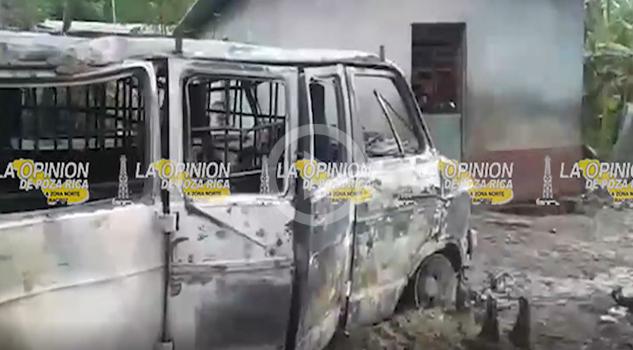 Vídeo: Chocó contra una casa y provocó impresionante incendio