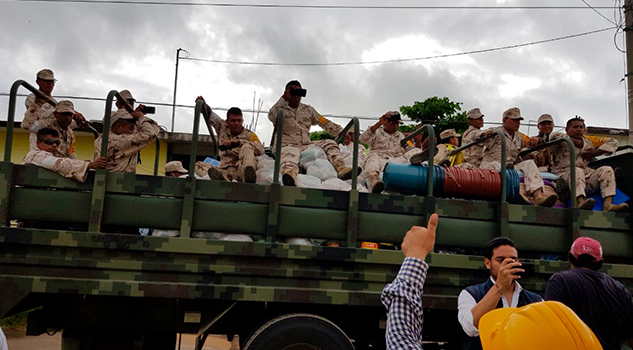 Personal de salud atiende 1900 localidades afectadas por sismo en Oaxaca