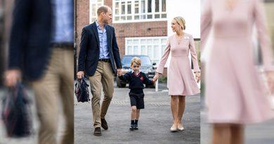 Principe George Primer Día Clases