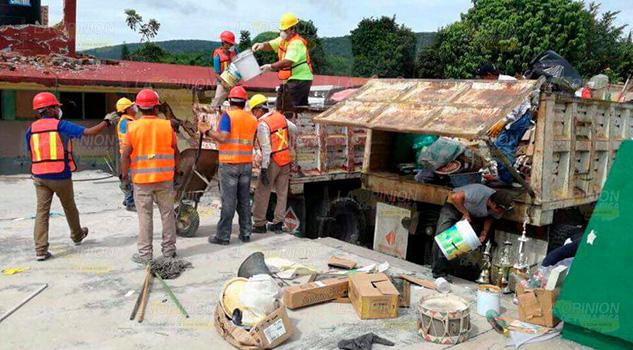 Protección Civil Voluntarios Labores
