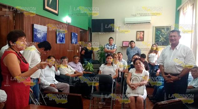 Reúne Alcaldesa Presidente Municipal Electo