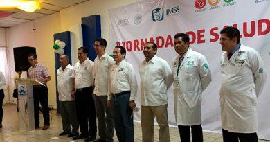 Realiza IMSS Jornadas Salud Detectar Enfermedades