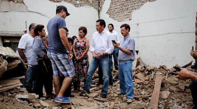 Réplicas Dificultan Censo Daños Osorio Chong