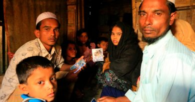 Rohinyás Huyen Myanmar Dos Semanas