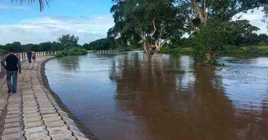 Se desborda Río Blanco