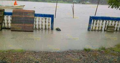 Se desborda el río Carvajal en Tamalin1