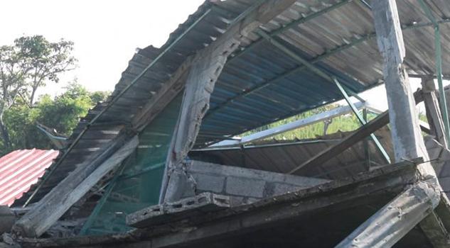 Sismo del 7 de septiembre dañó 67 viviendas en el sur de Veracruz