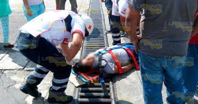 Un joven es atropellado en Álamo1