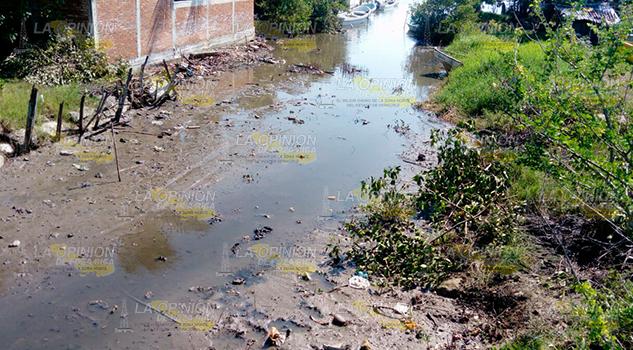 Urge Limpieza Estero Laguna Tamiahua