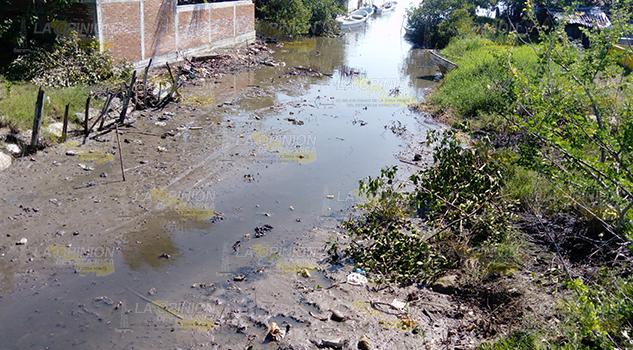 Urgente el desazolve en la López Áreas1