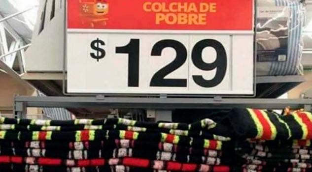 Vende Walmart colchas para pobres en $129