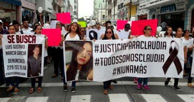 Veracruz Protestan Feminicidios