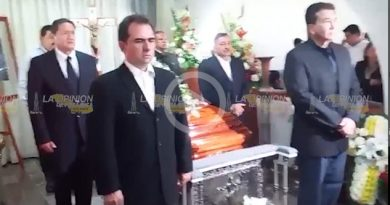 Video Guardia de honor en el funeral de Juan Nicolás Callejas