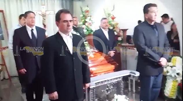Video Guardia de honor en el funeral de Juan Nicolás Callejas